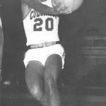 Billy Lewis was the first black basketball player at CU. He played from 1956-60.  photo courtesy of University of Colorado